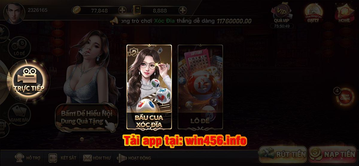 live casino win456, sảnh game win456, live win456